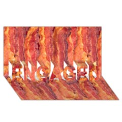 Bacon Engaged 3d Greeting Card (8x4)