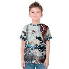Abstract 1 Kid s Cotton Tee