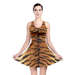 TIGER FUR Reversible Skater Dresses by trendistuff