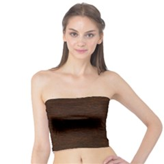 Reddish Brown Fur Women s Tube Tops by trendistuff