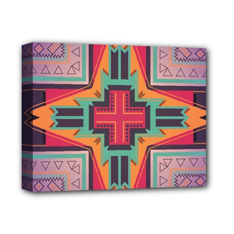 Tribal star Deluxe Canvas 14  x 11  (Stretched) by LalyLauraFLM