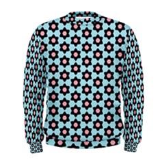 Cute Pretty Elegant Pattern Men s Sweatshirts by creativemom