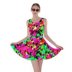 Colorful Leaves Skater Dresses by Costasonlineshop