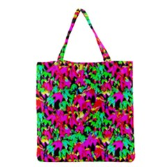Colorful Leaves Grocery Tote Bags by Costasonlineshop