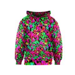 Colorful Leaves Kids Zipper Hoodies by Costasonlineshop