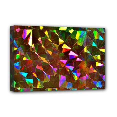 Cool Glitter Pattern Deluxe Canvas 18  X 12   by Costasonlineshop