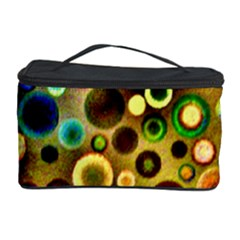 Colourful Circles Pattern Cosmetic Storage Cases by Costasonlineshop
