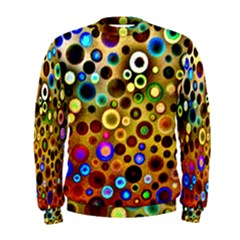 Colourful Circles Pattern Men s Sweatshirts