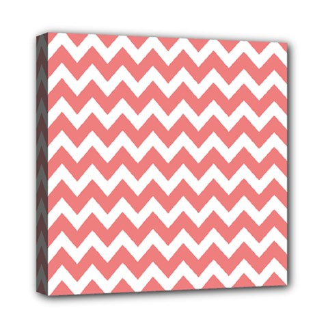 Chevron Pattern Gifts Mini Canvas 8  X 8  by creativemom