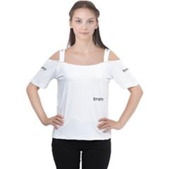 Lit1211081004 Women s Cutout Shoulder Tee