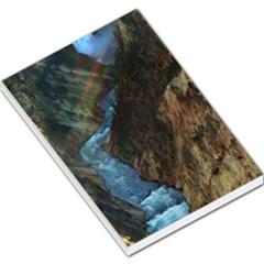 Yellowstone Lower Falls Large Memo Pads by trendistuff