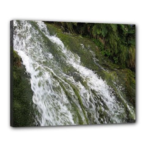 WATER OVERFLOW Canvas 20  x 16  by trendistuff
