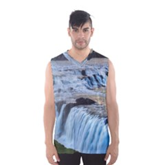 Gullfoss Waterfalls 2 Men s Basketball Tank Top