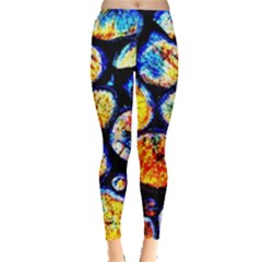 Woodpile Abstract Women s Leggings by Costasonlineshop