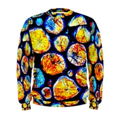 Woodpile Abstract Men s Sweatshirts by Costasonlineshop
