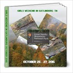 Girl s weekend in gatlinburg Oct 2015 - 8x8 Photo Book (20 pages)