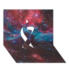 Vela Supernova Ribbon 3d Greeting Card (7x5)  by trendistuff