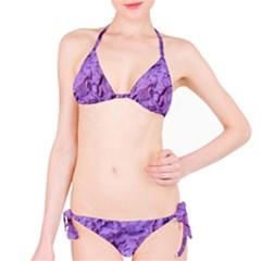 Purple Wall Background Bikini Set by Costasonlineshop