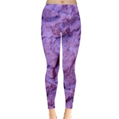 Purple Wall Background Women s Leggings by Costasonlineshop