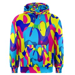 Colorful Chaos Men s Pullover Hoodie by LalyLauraFLM