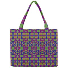Ethnic Modern Geometric Pattern Tiny Tote Bags by dflcprints