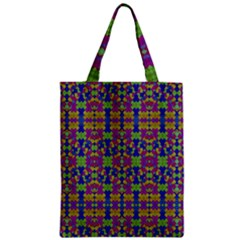 Ethnic Modern Geometric Pattern Classic Tote Bags by dflcprints