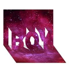 Rosette Nebula 1 Boy 3d Greeting Card (7x5) by trendistuff