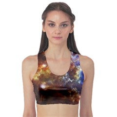 Rosette Cloud Sports Bra by trendistuff
