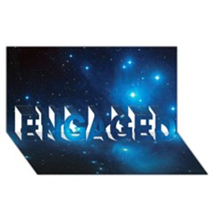 Pleiades Engaged 3d Greeting Card (8x4)  by trendistuff