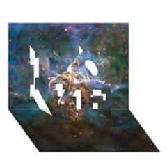 MYSTIC MOUNTAIN LOVE 3D Greeting Card (7x5)
