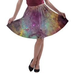 IC 1396 A-line Skater Skirt by trendistuff