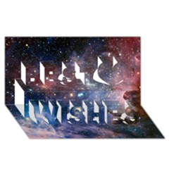Carina Nebula Best Wish 3d Greeting Card (8x4)  by trendistuff