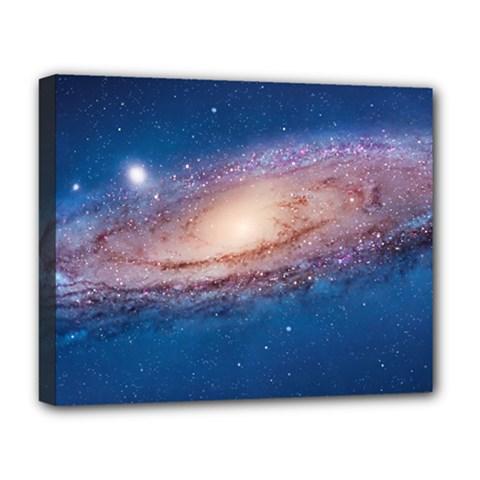 Andromeda Deluxe Canvas 20  X 16   by trendistuff