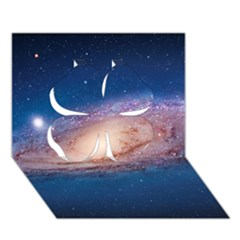 Andromeda Clover 3d Greeting Card (7x5)  by trendistuff