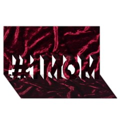 Luxury Claret Design #1 Mom 3d Greeting Cards (8x4)  by Costasonlineshop