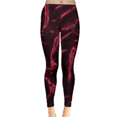 Luxury Claret Design Women s Leggings by Costasonlineshop