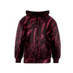 Luxury Claret Design Kids Zipper Hoodies by Costasonlineshop