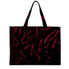 Luxury Claret Design Zipper Tiny Tote Bags by Costasonlineshop