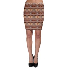 Southwest Design Tan And Rust Bodycon Skirts by SouthwestDesigns
