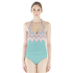 39038097 [Converted] Women s Halter One Piece Swimsuit by walala