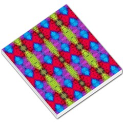 Colorful Painting Goa Pattern Small Memo Pads by Costasonlineshop