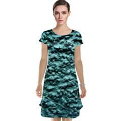 Green Metallic Background, Cap Sleeve Nightdresses by Costasonlineshop