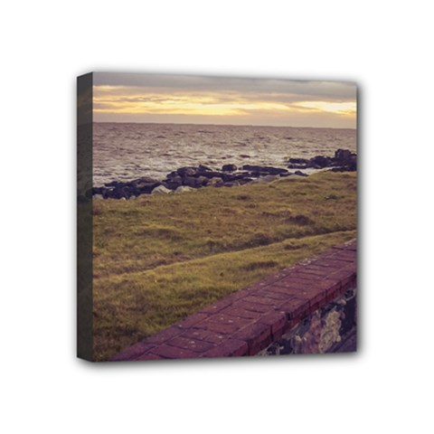 Playa Verde Coast In Montevideo Uruguay Mini Canvas 4  x 4  by dflcprints