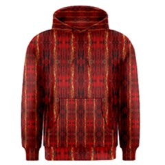 Red Gold, Old Oriental Pattern Men s Pullover Hoodies by Costasonlineshop