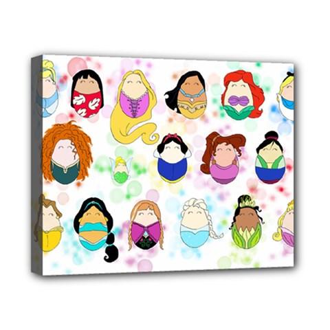 Disney Ladies Canvas 10  x 8  by lauraslovelies