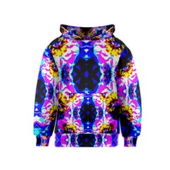 Animal Design Abstract Blue, Pink, Black Kid s Pullover Hoodies by Costasonlineshop