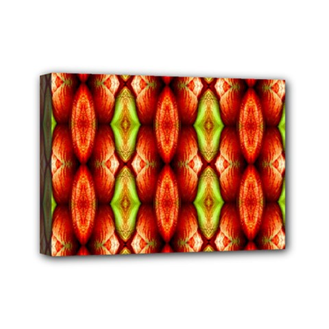 Melons Pattern Abstract Mini Canvas 7  x 5  by Costasonlineshop