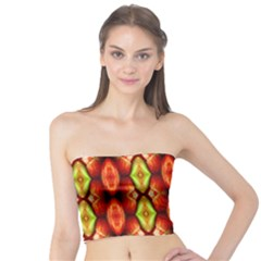 Melons Pattern Abstract Women s Tube Tops by Costasonlineshop