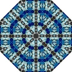 Royal Blue Abstract Pattern Straight Umbrellas by Costasonlineshop