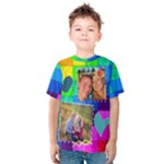 Rainbow Stitch Shirt - Kids  Cotton Tee